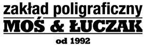 zakład poligraficzny MOŚ & ŁUCZAK od 1992 logo